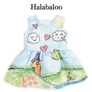 Halabaloo My Daughter Drew Dress Size 8